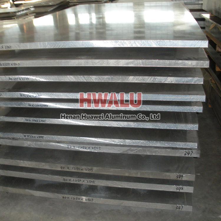 Standard width aluminum sheet plate