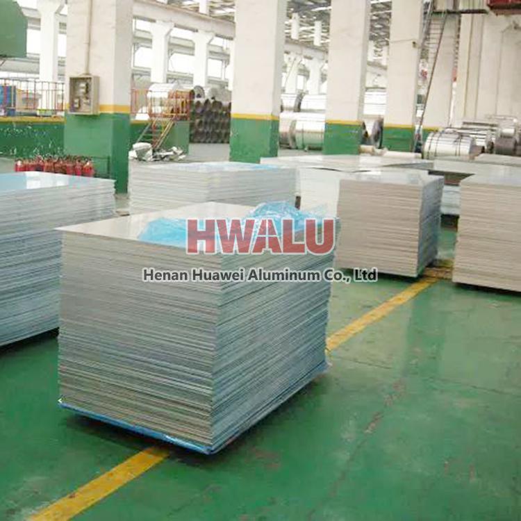 Custom alloy temper aluminum sheet plate